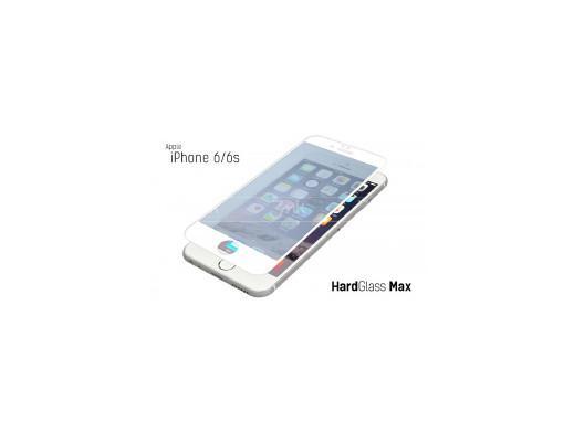 Szkło hart. 9H 3MK HardGlassMax Apple iPhone 6S White