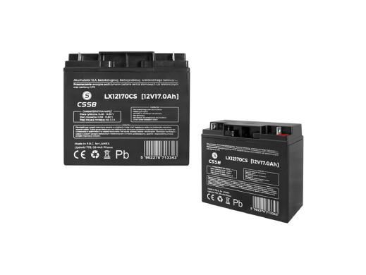 Akumulator żelowy LX12170 12V 17Ah