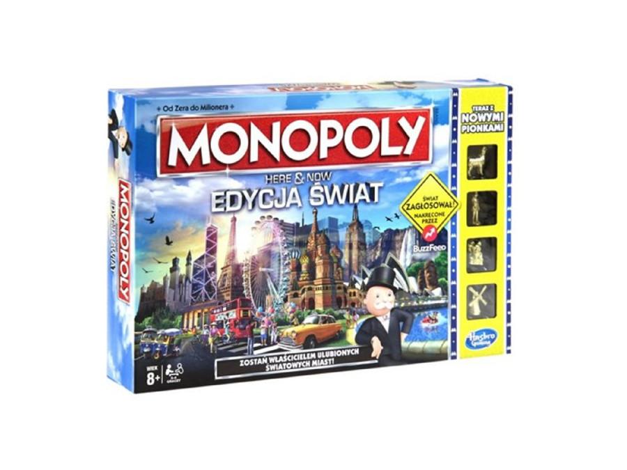 Gra Monopoly Here&Now Edycja Świat B2348 PL