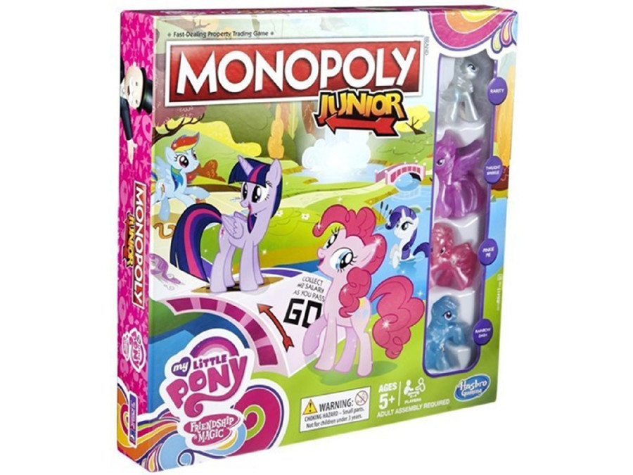 Gra Monopoly Junior My Little Pony PL B8417