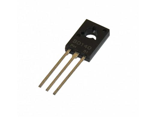Tranzystor BD140 PNP 80V 1.5A To126