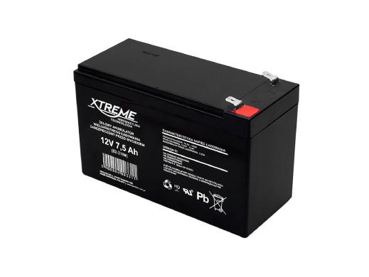 Akumulator żelowy 12V 7,5Ah...