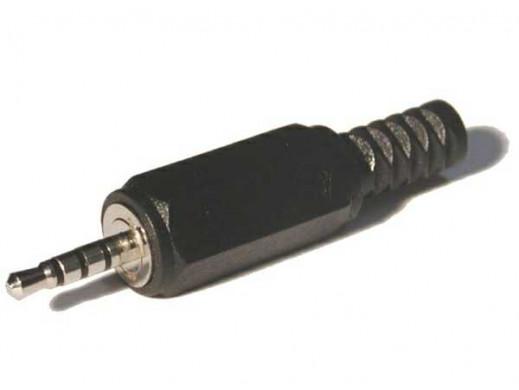 WTYK JACK 2,5mm 4P PLASTYK