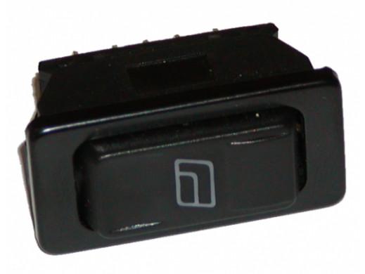 Przełącznik do szyb samochodowy 12V ASW-02D PODŚWIETLANY