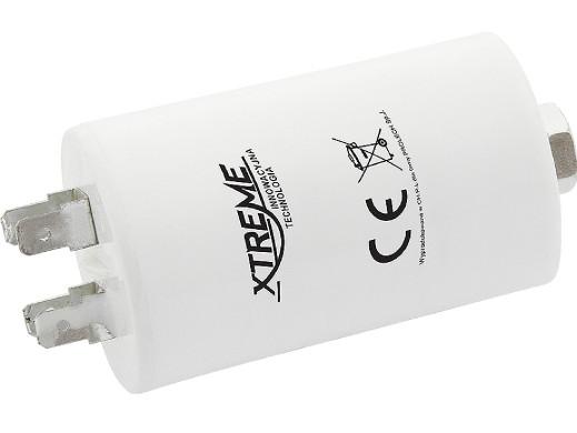 Kondensator rozruchowy 8uF 450V z konektorami Xtreme