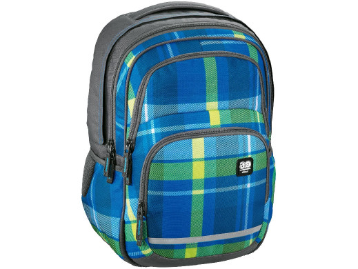 Plecak szkolny BLABY kolor: woody blue