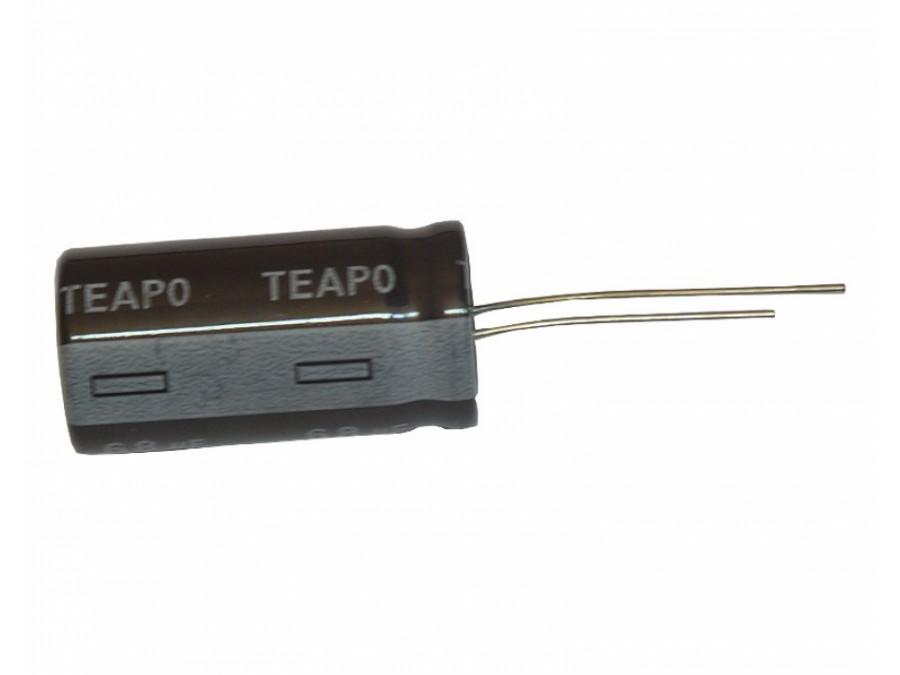 Kondensator elektrolityczny 22uF/250V 105C
