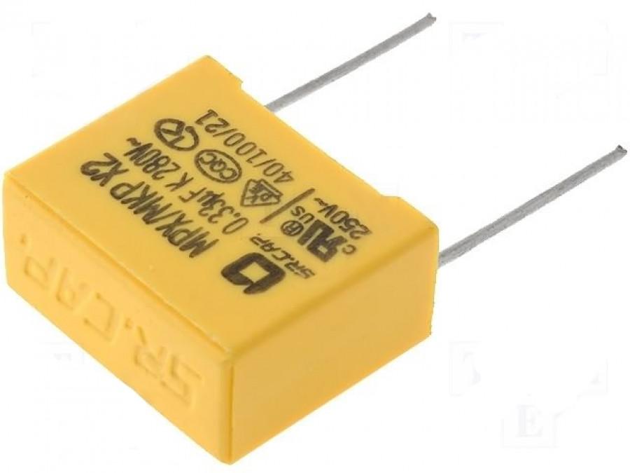 Kondensator AC 330nF/275V