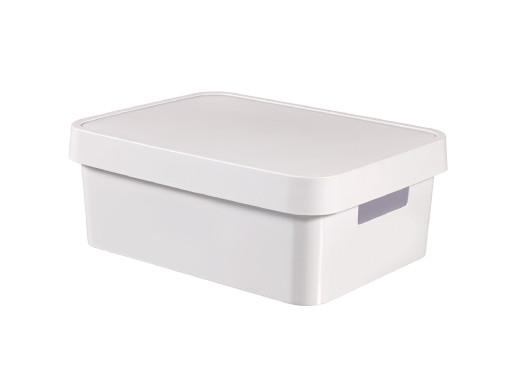 Pojemnik z przykrywką Curver Infinity 11L biały