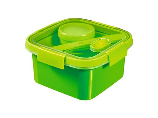 Pojemnik kwadr. Curver To Go Lunch Kit 1,1L zielony