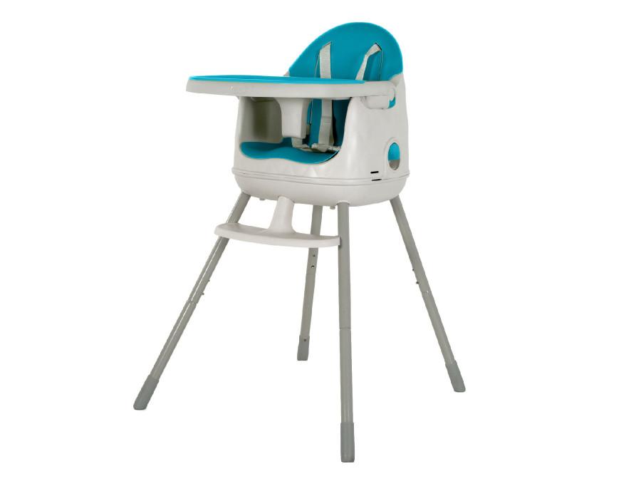 Krzesełko do karmienia Keter niebieskie