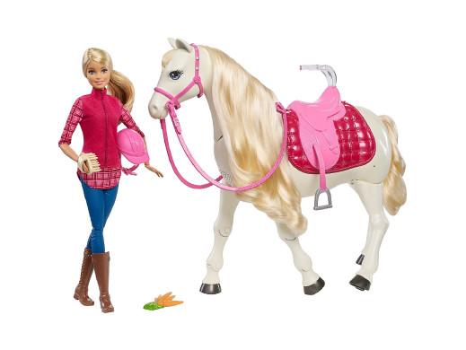 Barbie Interaktywny Koń...