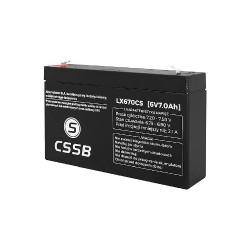 Akumulator żelowy CSSB 6V 7Ah
