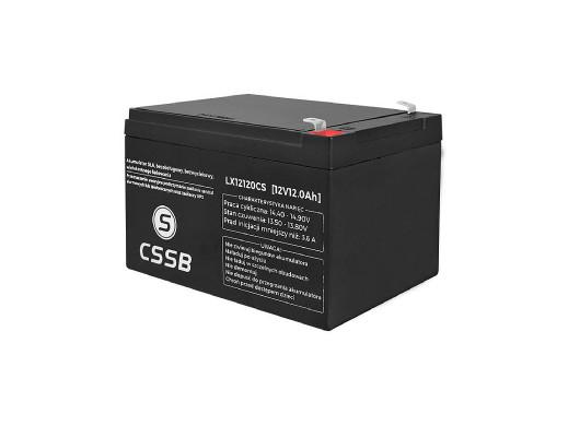Akumulator żelowy LX12120...