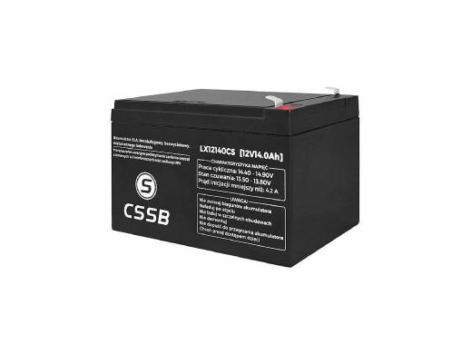 Akumulator żelowy LX12140 12V 14Ah