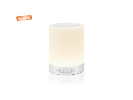 Głośnik BT z lampką LED...