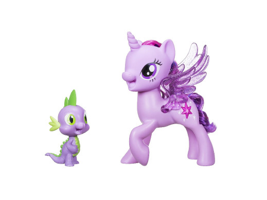 Śpiewajaca Twilight Sparkle+Spike My Little PonyPL C0718