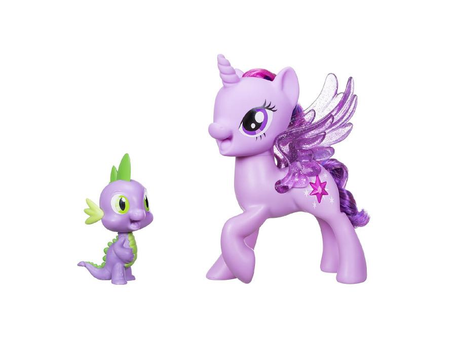 Śpiewajaca Twilight Sparkle+Spike My Little PonyPL C0718