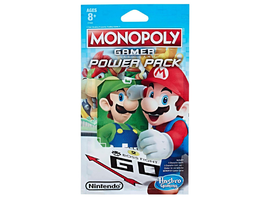 Figurka Monopoly Gamer Power Pack C1444 mix