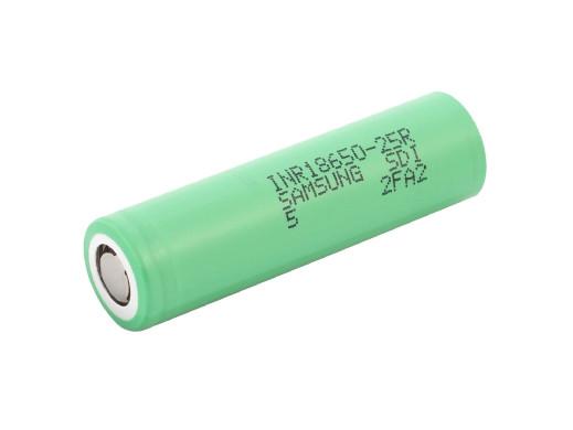 Akumulator 18650 Samsung INR18650-25R 2500mAh