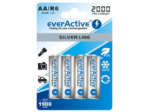 4x akumulatorki everActive...