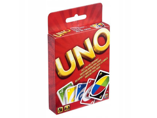 Gra karciana Karty Uno...