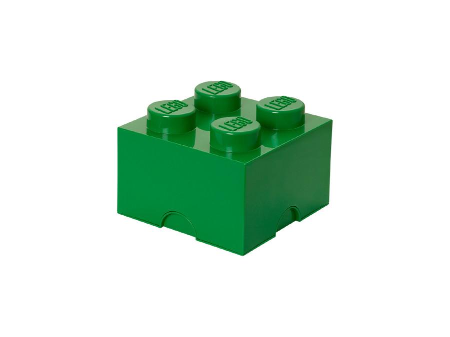 Pojemnik Lego Storage Brick 4 zielony 5,7L
