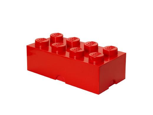 Pojemnik Lego Storage Brick 8 czerwony 12,1L