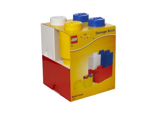 Zestaw 4 pojemników Lego...