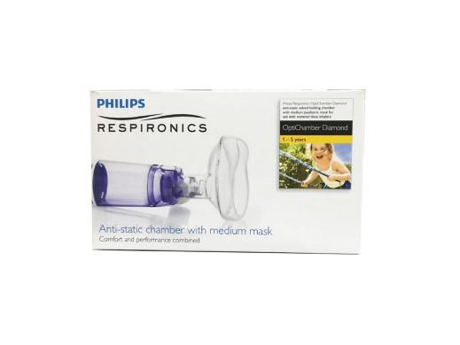 Komora inhalacyjna PHILIPS + MASKA ŚRED. (1079825)