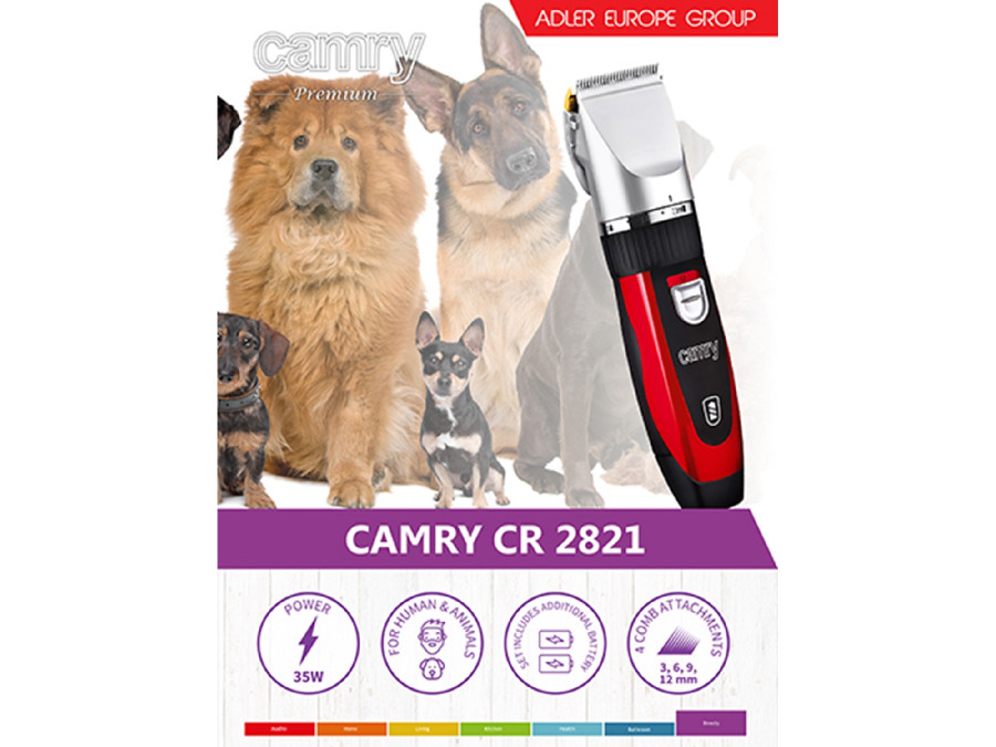 Maszynka do strzyżenia psów CR2821 Camry. Powiększ a78be4457c2