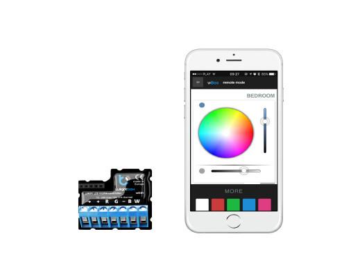 Sterownik LED RGBW WiFi BleBox wLightBox