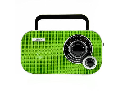 Radio przenośne FM CR1140 Camry zielony