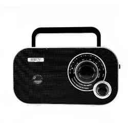 Radio przenośne FM CR1140 Camry czarne
