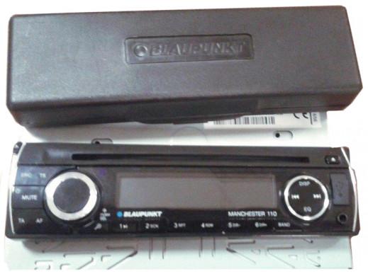 Radioodtwarzacz  Manchester 110  CD/USB/SD/BT Blaupunkt POSERWISOWY ślady użytkowania