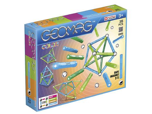 Klocki magnetyczne Geomag Color 35el. GEO-261