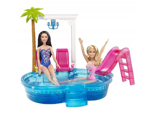 Zestaw Barbie Basen ze...