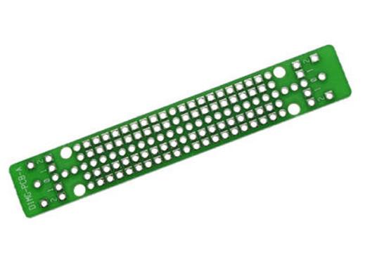 Płytka uniwersalna wiercona 14,3x86,9mm D1MG