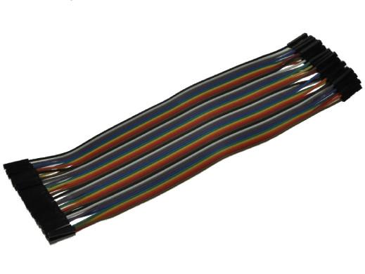Płytka stykowa-przewody żeńsko /żeńskie 40szt L-20cm