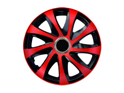 """Kołpak 15"""" DRIFT Extra red/black 4szt"""