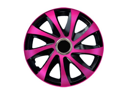 """Kołpak 15"""" DRIFT Extra pink/black 4szt"""