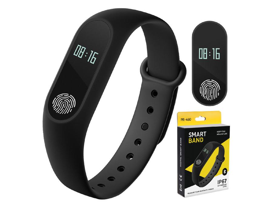 Opaska Fitness Tracker Smartband Bluetooth Puls Promedix PR-450