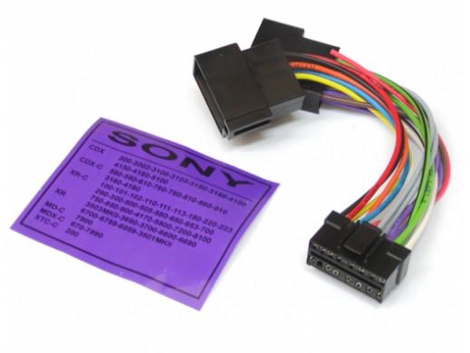 Złącze samochodowe Sony 16...