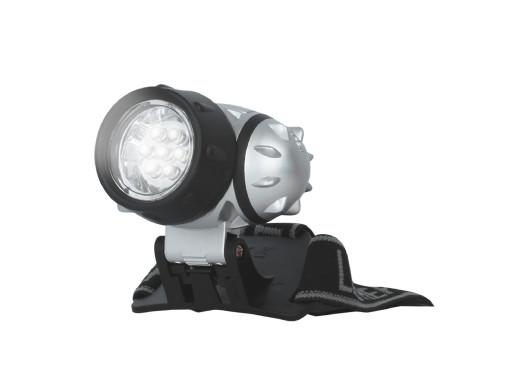 Latarka czołowa 7 LED Setty
