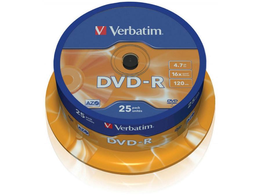 Płyta DVD-R 4,7GB Verbatim...