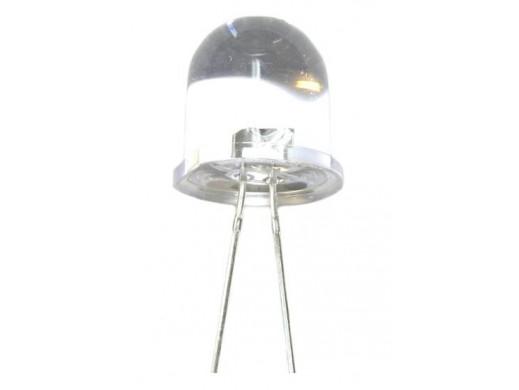 Dioda LED 12mm 12V biała