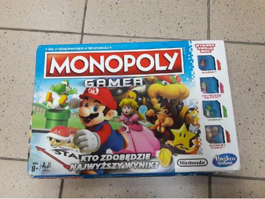 Gra planszowa Monopoly...