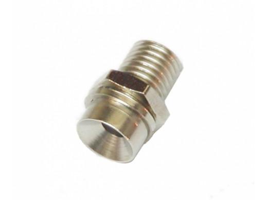 Oprawka LED 3mm wklęsła metal