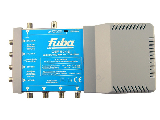 Multiswitch 5/4 OSP504S Fuba