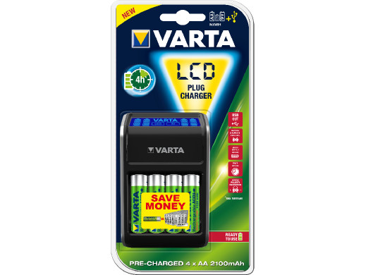 Ładowarka Varta LCD Plug...